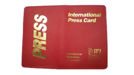 Получить Международную пресс-карту