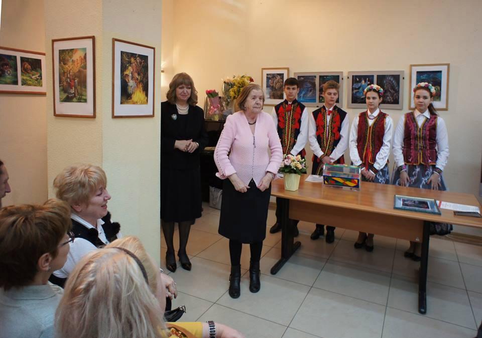 16 февраля 2018г. Марина Ордынская в ДомЖуре