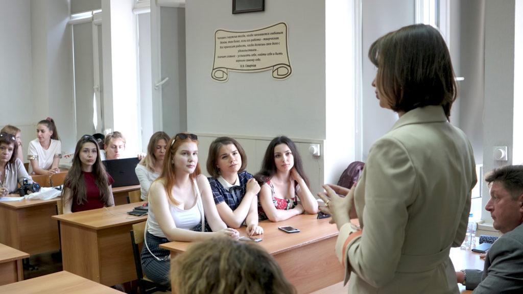 Вручены стипендии имени профессора Смирнова.