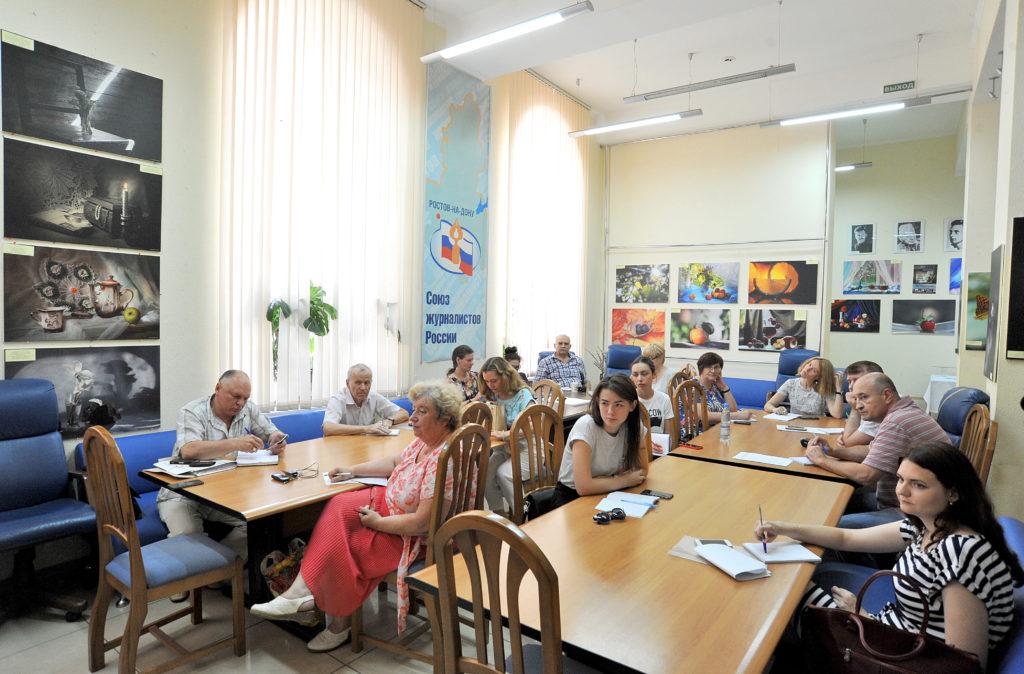 В областном Доме журналистов прошел семинар по расследовательской журналистике.