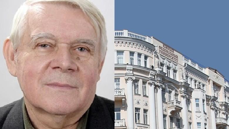 Ушёл из жизни профессор кафедры истории журналистики Южного федерального университета Александр Иванович Станько.