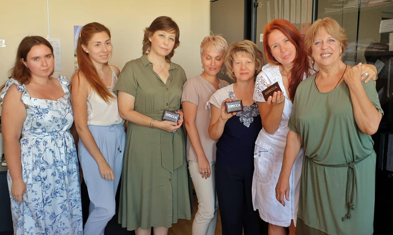 Кафедра журналистики вступает в Союз журналистов.