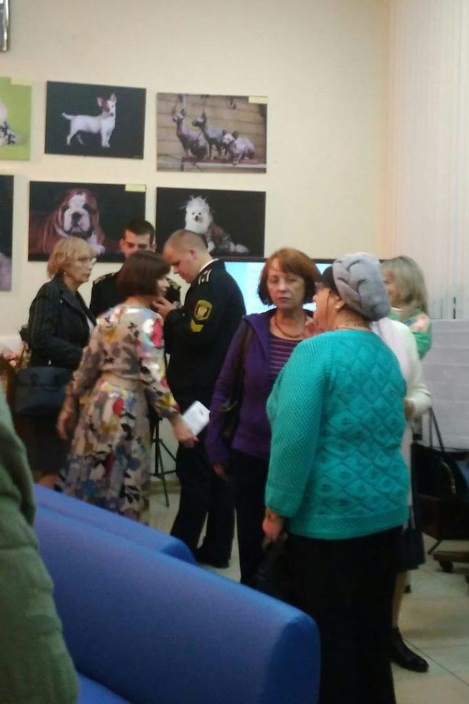 Персональная выставка Ирины Давыдовой открылась в Доме журналиста.