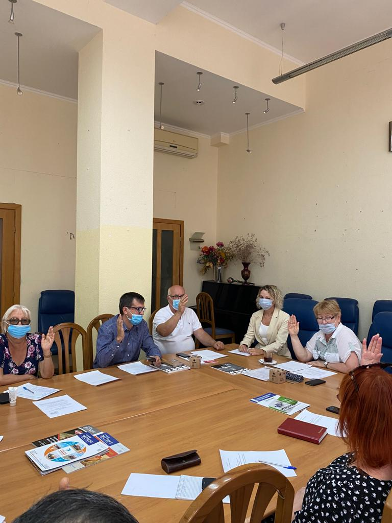 Состоялось очередное заседание правления Ростовского областного отделения Союза журналистов России.