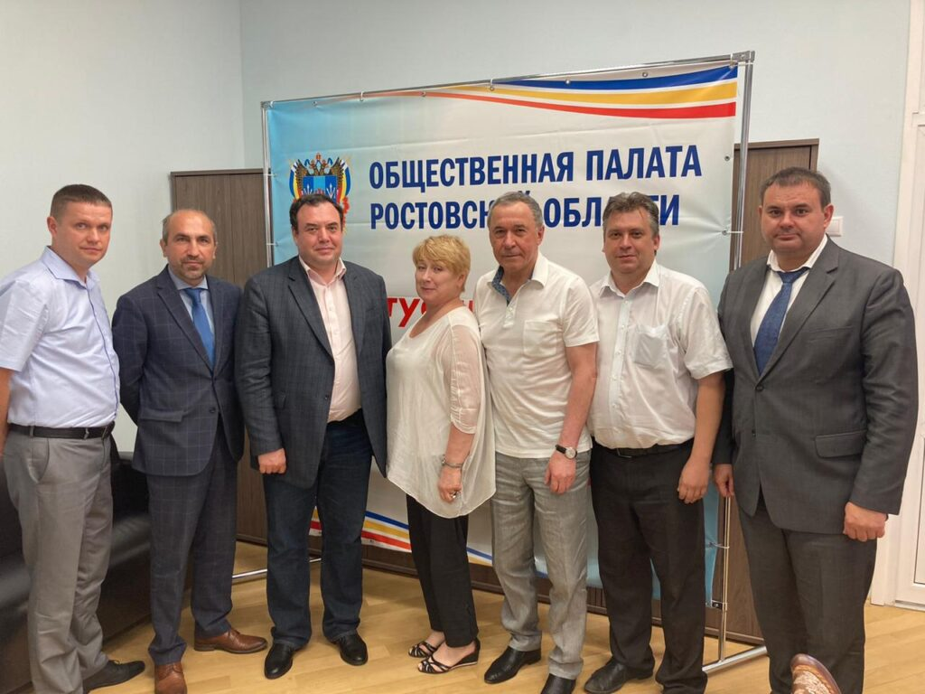 Встреча с членом Совета при Президенте РФ Александром Бродом.