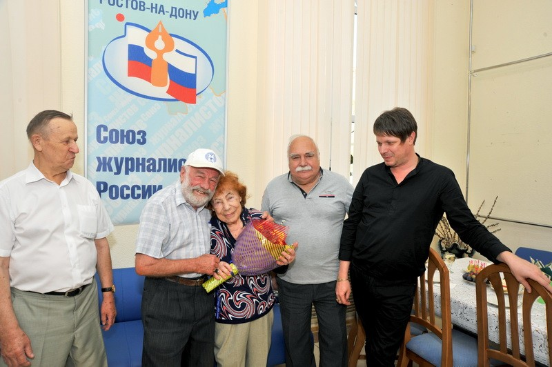 Валерию Тихомирову поздравили с 95-летием.