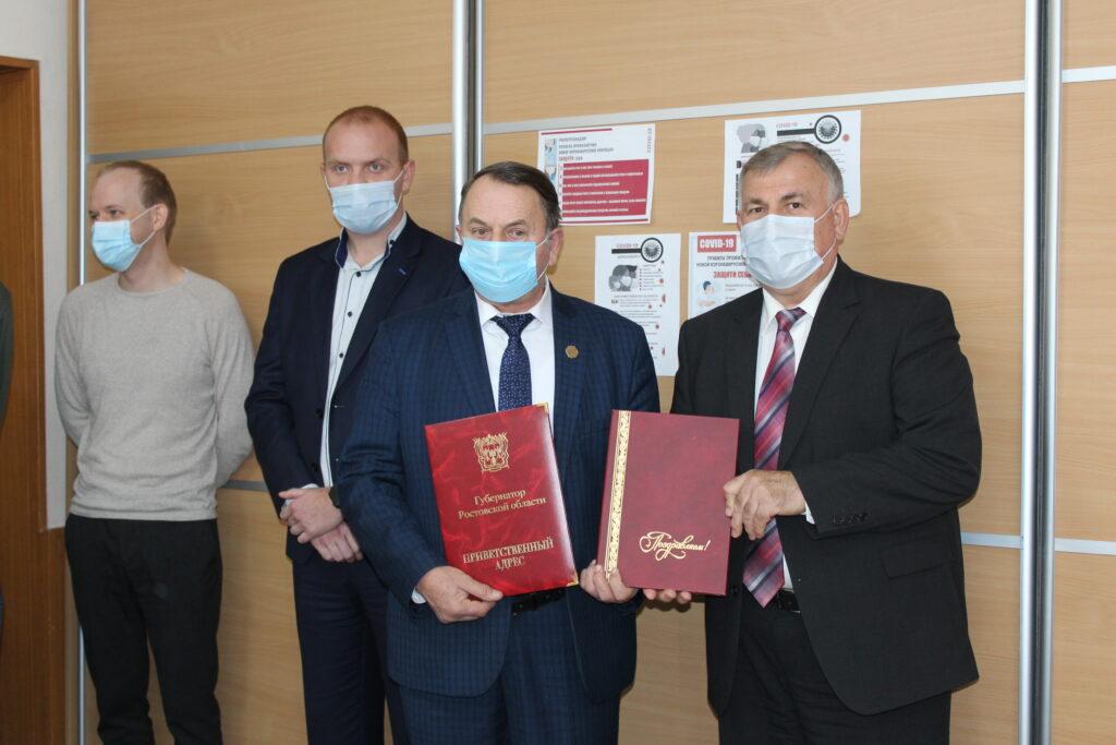 «Морозовский вестник» торжественно отметил 100-летие
