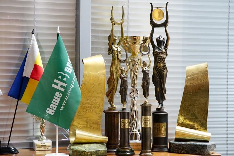 «Наше время» удостоено награды в конкурсе «Золотой Гонг».